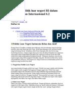 Peranan Politik Luar Negeri RI Dalam Percaturan Internasional 6