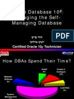 Oracle Database 10G - Dba