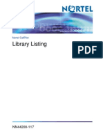 Library Listing