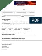NWARW Membership Form