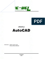 Apostila de AutoCAD