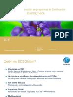 Certificación Earthcheck