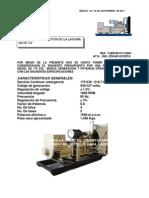 Ingenieria y Proyectos de La Lagunam Planta 175 Kw Deep Sea 4420 2011 440 V