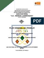Plan General de Trabajo Silvana