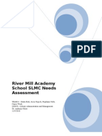 River Mill Academy Needs Assessment