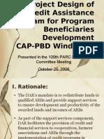 CAP-PBD Orientation