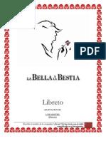 Libreto - La Bella y la Bestia - Español