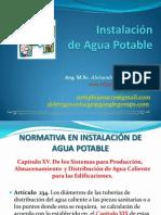 Instalación de Agua Potable II
