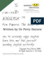 Barnes Method English @ Fun Papers Best Of