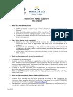 Practicum FAQs
