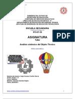 Analisis Sistemico Del Globo Aerostatico