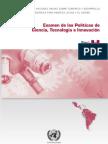 Examen de las Políticas de Ciencia, Tecnología e Innovación Tecnológica del Perú