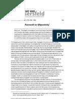 von Glaserfeld- Adiós a la objetividad