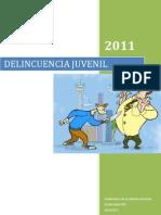 MONOGRAFIA DELINCUENCIA JUVENIL