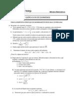 Ejercicios_examenes metodos numericos
