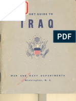 A Short Guide to Iraq