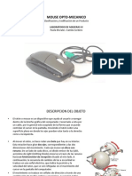 Mouse Opto Mecanico