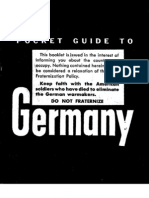 Pocket Guide To Germany B/W