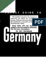 Pocket Guide To Germany B/W