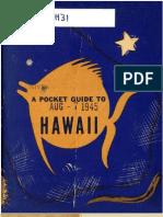 Pocket Guide to Hawaii