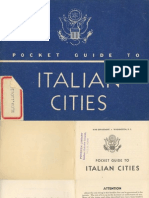 Pocket Guide to Italian Cities