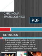 Carcinoma Broncogenico