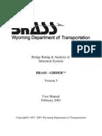 BRASS Girder Manual