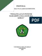 Contoh Proposal Kkn P