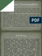 Sumerian Civilization - W.H. Presentation