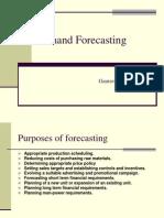 Demand Forecasting