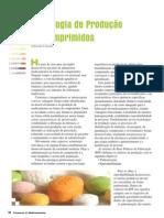 artigo produção de comprimidos