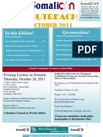 SomaliCAN Outreach Newsletter October 2011