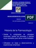 INTRODUCTORIO DE FARMACOLOGIA 2011