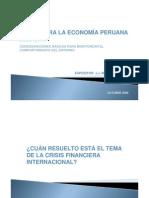 Retos Para La Economia Peruana 2009 2010