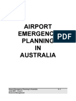 Airport Emergency Planning in Australia