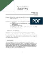 DoD Directive 1325.6