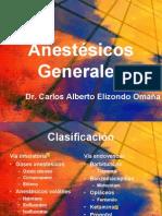 Anestésicos Generalesy locales
