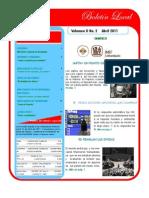 boletin abril IMEF Universitario  Tampico