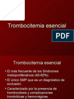18-10 Clase trombocitemia esencial