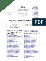 CONCORDANCIA DE LA BIBLIA STRONG (HEBREO Y GRIEGO)
