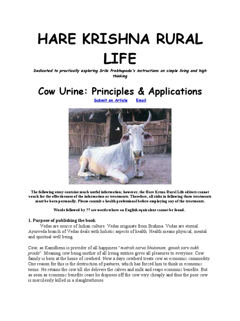 cow urine advantages black ayurveda urine