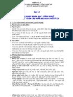 lịch sử lớp 12 -  Bài 10 - CÁCH MẠNG KHOA HỌC- CÔNG NGHỆ VÀ XU THẾ  TOÀN CẦU HÓA NỬA SAU THẾ KỶ XX