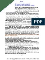 lịch sử lớp 12 -  Bài 20 - CUỘC KHÁNG CHIẾN TOÀN QUỐC CHỐNG THỰC DÂN PHÁP  KẾT THÚC (1953 – 1954)