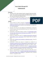 Publication List AAE