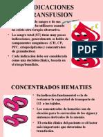indicaciones de  transfusion sanguinea (10.12.07)