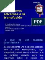 Reacciones Transfusionales (11.12.07)