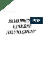 JOCURI DIDACTICE