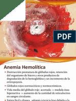 Anemia hemolítica y por deficiencia de hematíes