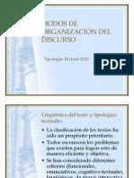 Modos de Organizacion Del Discurso 1