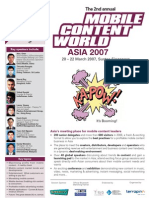 Mobile content world (Asia 2007)